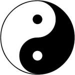 The symbol of Yin and Yang
